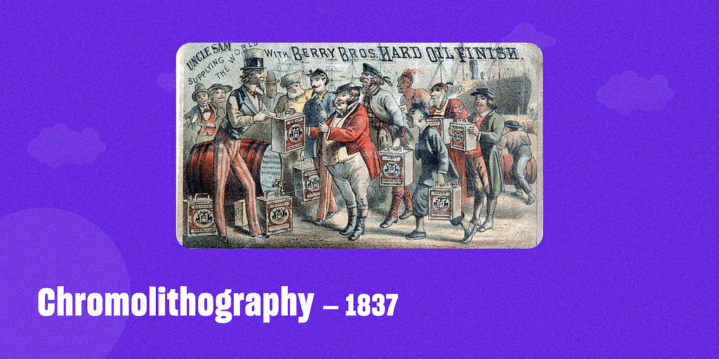 Chromolithography – 1837